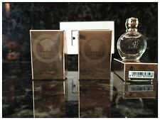 3 X Versace Eros Pour Femme Women Mini Bottle 0.17 OZ 5 ML EDP Splash Nib