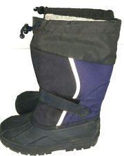L.L. Bean Kids Size 3 Snowboots Lightly Used. Navy Blue Black.