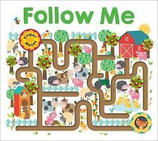 Finger Mazes: Follow Me by Roger Priddy (2016, Board Book)