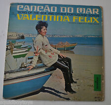 VALENTINA FELIX: Cancao do Mar LP Record Portugal Beach 1960s