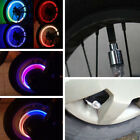 4pcs LED Wheel Tyre Tire Valve Caps Neon Lamp Light for Bike Car Motorcycle Accs