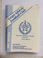 Grays Athletic v Southend United 28th July 1998