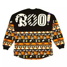 Disney Parks Store Mickey Mouse Halloween BOO Spirit Jersey Adults Ghost Pumpkin
