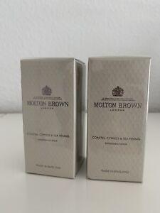 Molton Brown 2x Coastal Cypress & Sea Fennel Deo Stick