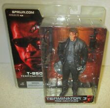MCFARLANE TERMINATOR 3 T-850 RISE OF THE MACHINES ACTION FIG ARNOLD SCARED FACE