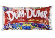 DUM DUM POPS 500 Count 5.3 Pound Bag Lollipops Suckers