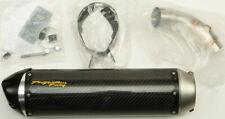 Two Brothers Racing Exhaust Suzuki Slip-On Carbon Fiber 005-4130405-S1 59-2433
