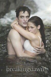 TWILIGHT MOVIE POSTER ~ BREAKING DAWN  PART 1 WATER 24x36 Saga Robert Pattinson