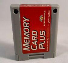 Nintendo 64 N64 Memory Card Plus