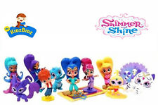 Nickelodeon Shimmer And Shine gâteau Toppers Set de 12 figurines