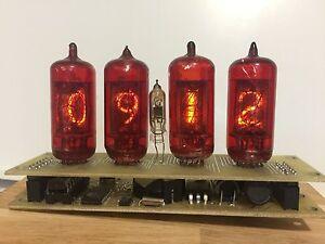 nixie clock Z573M  (4 Z573M tubes)