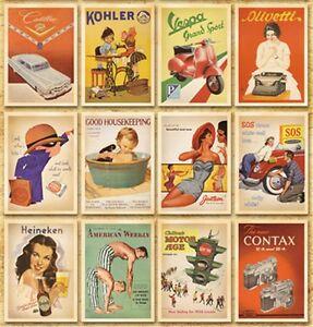32pcs Vintage Postcard History Photo Picture Poster Post Cards Postcard Lot