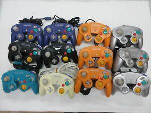 D508 Nintendo GameCube 12 Controller set Orange/White/Emerald Blue Japan GC x