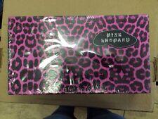 Herstyler 3 Pc Pink Leopard Hair Straightener Curl Flat Iron Free Shampoo Set