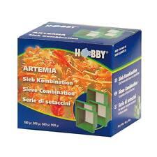 Hobby Artemia Siebkombination - Sieb Set Artemia Triops Urzeitkrebse Fische