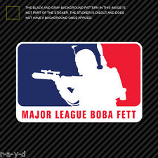 Major League Boba Fett Sticker Die Cut Decal MLBB