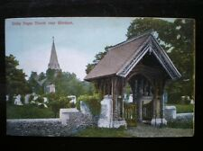 POSTCARD BUCKINGHAMSHIRE STOK POGES CHURCH