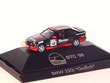 1:87 HERPA 1996 BMW 320i DTC #40 M.Gedlich PC box RARE COLLECTABLE MODEL CAR !!