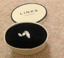 💎Links Of London 💎Ladies White Sapphire Silver Ring 💍Size L💍