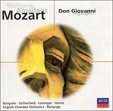 "Mozart ""Don Giovanni "" Sutherland, Horne, More! CD! BRAND NEW! STILL SEALED!!"