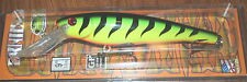 "9"" Ernie Musky Mania Pike Muskie Lure Crankbait Firetiger ED-12 Drifter Tackle"