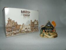 Lilliput Lane American Landmarks Collection ~Mail Pouch Barn~ 1989 With Box