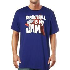 Nike Mens Basketball Is My Jam Purple Fitness T-Shirt Athletic Xxl Bhfo 2757