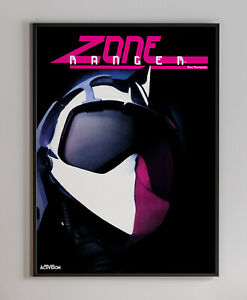 Zone Ranger 1984 Arcade Video Game Retro Print Poster 18 x 24 inches