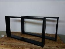 Tischgestell Stahl  Tischuntergestell Couchtisch Wohnzimmertisch 700x370mm