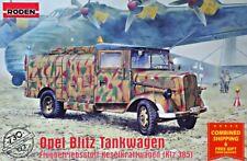 Roden 730 - 1/72 - Opel Blitz Kfz. 385 Tankwagen Truck WWII plastic model kit