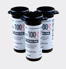3 rolls of B&W film Rera Pan 100S 127 (3 Rolls)