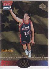 1996 UPPER DECK SP USA BASKETBALL CAREER STATS: JOHN STOCKTON #S10 GOLD DIE-CUT