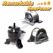G247 For 96-00 Honda Civic 1.6L Engine Motor Trans Mount Set 3PCS 97-01 CRV 2.0L