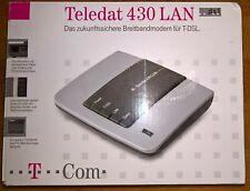 Teledat 430 Lan DSL-Modem ( Neuwertig )