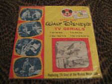 WALT DISNEY'S SONGS FROM TV SERIALS SEEN ON MICKEY MOUSE CLUB-NEW- 7'45 EP-P/S-