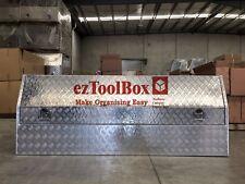 Aluminium Toolbox Storage Sideopen Ute Truck Trailer Tool Box+Shelf 2100x550x800