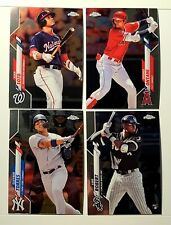 2020 Topps Chrome Baseball Cards --- You Pick Your Card 1-200 **Ready to Ship**
