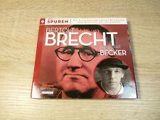 Ben Becker: Bertolt Brecht - Spuren 9 / Hörbuch