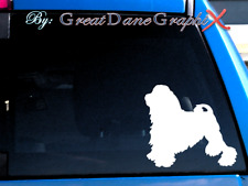 Lowchen ( Little lion dog ) -Vinyl Decal Sticker -Color Choice -High Quality