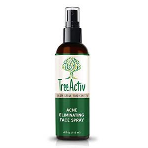 TreeActiv Acne Eliminating Face Spray Salicylic Acid Hormonal/Cystic Acne 4 oz
