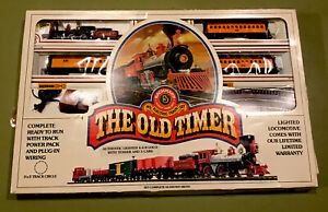 Bachmann HO Scale Electric Train Set The Old Timer 4 4 0 Loco