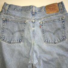 Levis 550 Size16Mis S Jeans Actual Size 32x28 Relaxed Fit Tapered Leg High Waist