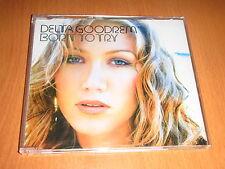 DELTA GOODREM - BORN TO TRY - BRAZIL PROMO CD 3 TRACKS JEWEL CASE ( AA0000500 )