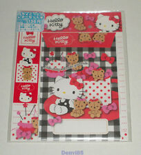 """VERY CUTE! 2012 Sanrio HELLO KITTY """"Sewing"""" Stationery Set from JAPAN! NEW!"""