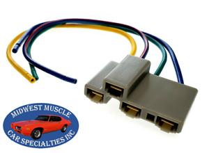 73-92 GM GMC Fan Blower Motor Resistor Wiring Harness Plug Pigtail D70
