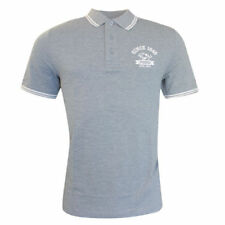 Camisetas de hombre de manga corta gris PUMA
