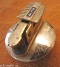 Accendino da tavolo vintage dorato Blitz da riparare diametro base 3,5 cm raro