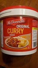 McDonnells Curry Sauce Mix 3.75 KG X 1 Del. in 3-4 business day makes15L exp7/19