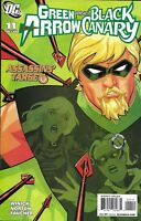 Green Arrow And Black Canary Comic Issue 11 Modern Age First Print 2008 DC