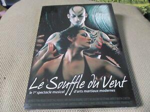 """DVD NEUF """"LE SOUFFLE DU VENT"""" le 1er spectacle musical d'arts martiaux modernes"""